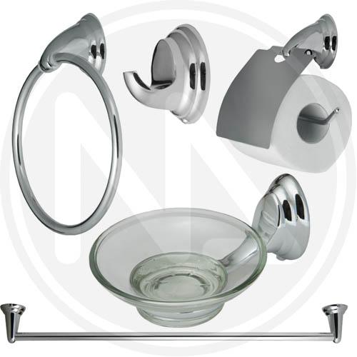 Ebay for Accessori bagno cromati