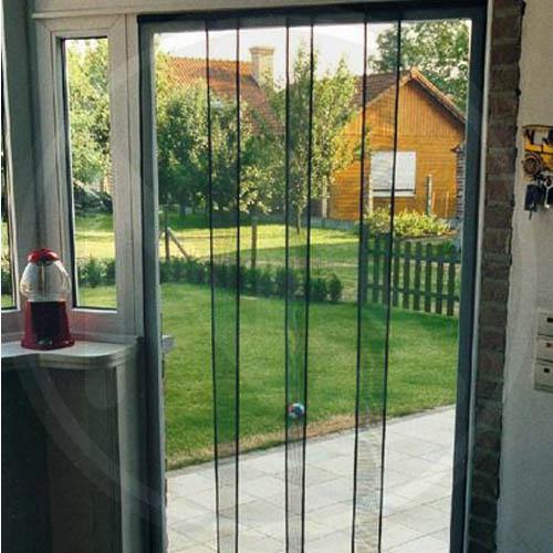 Tenda zanzariera a pannelli verticali cm 120x240h zanzariere porta finestra ebay - Tenda per porta finestra ...